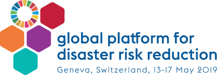 Logo Global Platform Disaster Risk flach